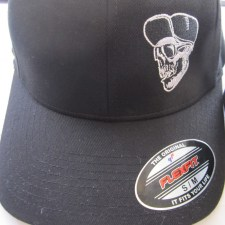 rocker-s-m-black-flexfit-hat